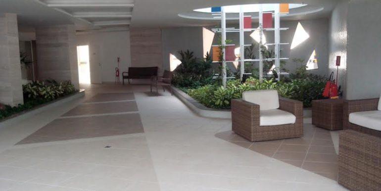 soneto residencia - hall de entrada -jardins