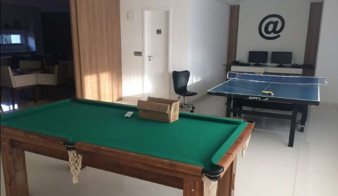 soneto residencia - sala de jogos com lan house