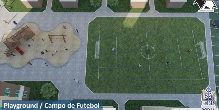 Playground e Campo de Futebol