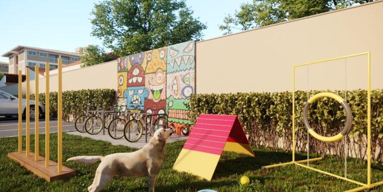 Bicicletario e Pet place